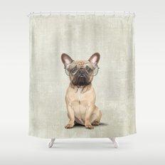 Mr French Bulldog Shower Curtain