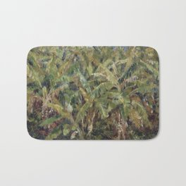 Renoir - Field of Banana Trees, 1881 Bath Mat