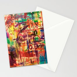 QUIEN ES VALIENTE ES LIBRE Stationery Cards