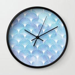 Mermaid Fans: I Dream of Atlantis Wall Clock