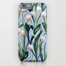 Waiting on the Blooming - a Tulip Pattern Slim Case iPhone 6