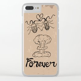 Die Hard Romantic Clear iPhone Case