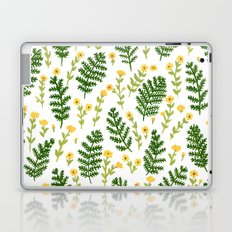 Ferns & Flowers Laptop & iPad Skin