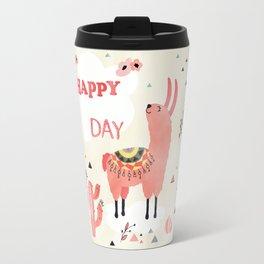 Hapy Lama Travel Mug