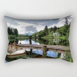 Tranquility At Loch Ard Rectangular Pillow