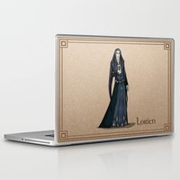 valar morghulis Laptop & iPad Skins featuring Lorien by wolfanita