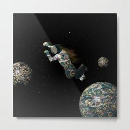 Spacewalk Dream #3 Metal Print