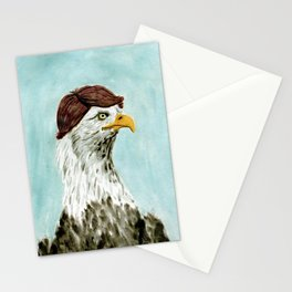 Mid-Life Crisis Eagle  Stationery Cards
