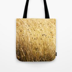 Fields of gold Tote Bag