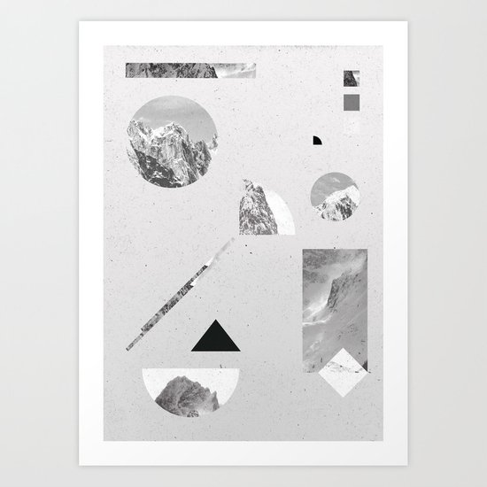 monochromatic Art Print