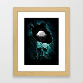 """The Tell-Tale Heart"" - Edgar Allan Poe Series Framed Art Print"