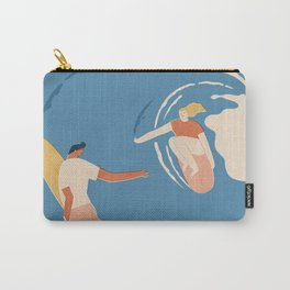 Wave lovers Carry-All Pouch