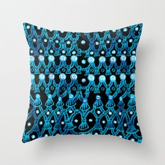 Tassels and Pearls Throw Pillow