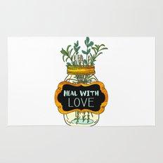 Heal With Love Rug