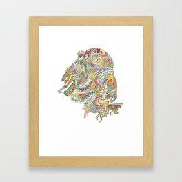 Stupid Waste Framed Art Print