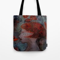 imagerybydianna Tote Bags featuring somnia by Imagery by dianna