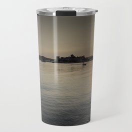 Bodrum Bay Sunset Travel Mug