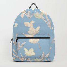 Ladyblue floral Backpack
