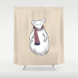 Autumn Mouse Shower Curtain
