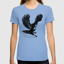 Ariadne Dreamtime Network of Unassuming Psychic Assassins Harpy T-shirt