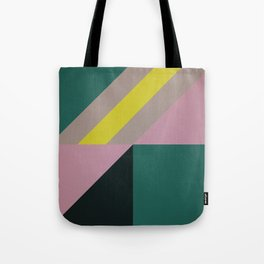 Modernist Geometric Graphic Art Tote Bag