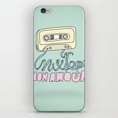 Mixtape mon amour iPhone & iPod Skin
