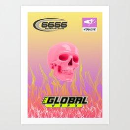 Global Hoax Club Art Print