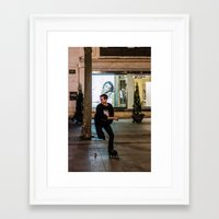sport Framed Art Prints featuring Roller, sport by Sébastien BOUVIER
