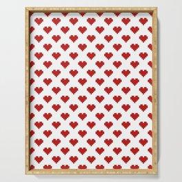 Love Pattern Serving Tray