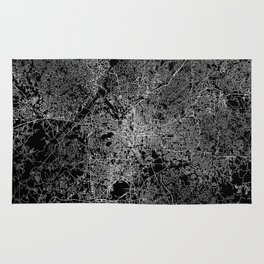 Atlanta map Georgia Rug