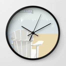 Cottage Life (1) Wall Clock