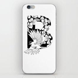 Birdie B iPhone Skin