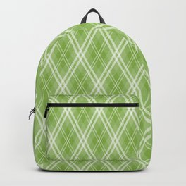 Color of the Year 2017 Designer Colors Greenery Argyle Plaid Backpack