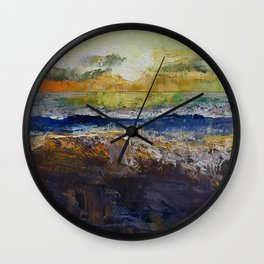 California Waves Wall Clock