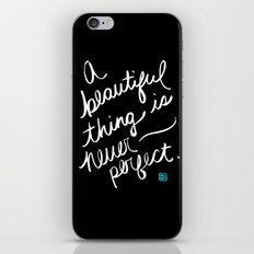 A Beautiful Thing (inverted) iPhone & iPod Skin