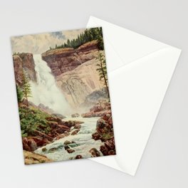 Bagg, Henry H. (1852-1928) - On Sunset Highways 1921 - Nevada Fall, Yosemite Stationery Cards
