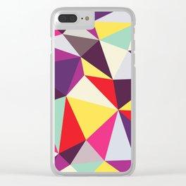 Disco Tris Clear iPhone Case