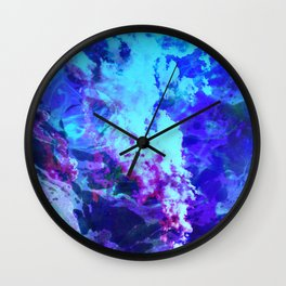 Misty Eyes of Tranquility Wall Clock