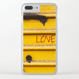 Love You, New York Clear iPhone Case