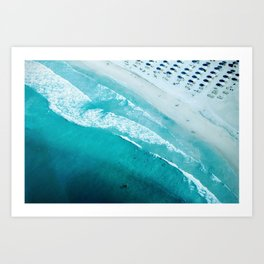 Dubai coastline #society6 #decor #buyart #homedecor Art Print