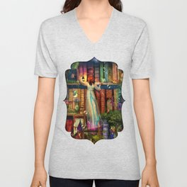 Whimsy Trove - Treasure Hunt Unisex V-Neck