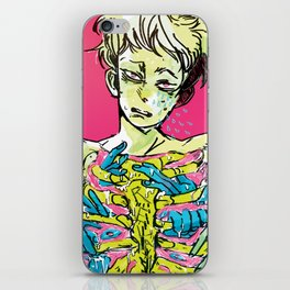 take a chill pill iPhone Skin