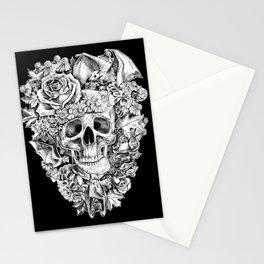 Happy Halloween Skull Stationery Cards