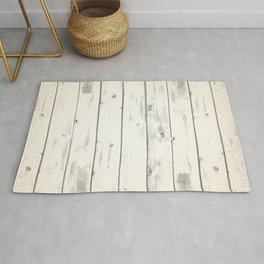 Light Natural Wood Texture Rug
