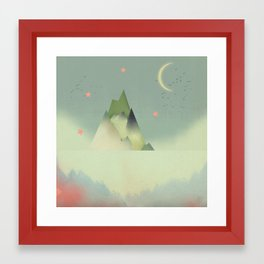 Abstract Cloudscape Framed Art Print