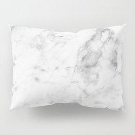 White Marble Pillow Sham
