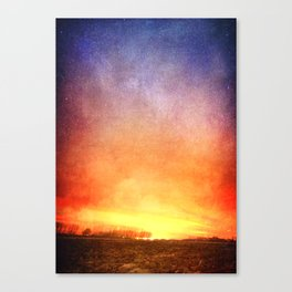The Last Breaking Light Canvas Print