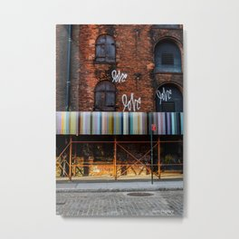 Love. Dumbo Brooklyn Metal Print