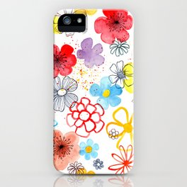 Summergarden iPhone Case