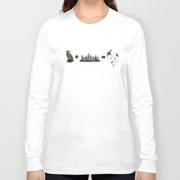 Owl + City = Fireflies Long Sleeve T-shirt